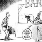 Bail-in-Karikatur